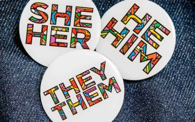 Pronoun Badges